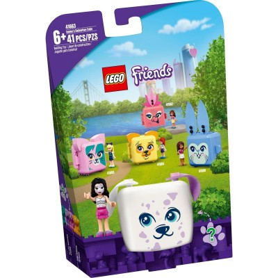Lego Emma's Dalmatian Cube 41663